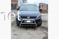 Защита передняя - кенгурятник VW Caddy 2010-2015