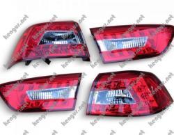 Задние фонари диодные (светлые)