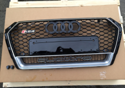 Решетка радиатора Audi A4 B9 RS4 Quttro
