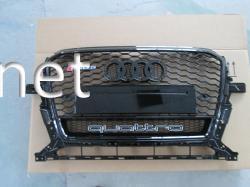 Решетка радиатора Audi Q5 стиль RSQ5 Black (2012-2015) QUATTRO