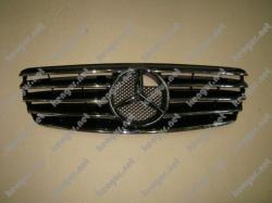 Решетка радиатора Mercedes Benz E Class W211 (2003-2006)