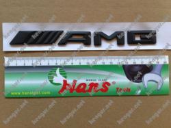 Надпись AMG (черный мат) #441174