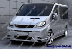 Передний бампер Opel Vivaro