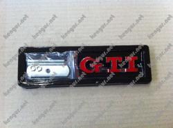 Эмблема GTI в решетку