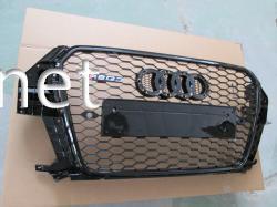 Решетка радиатора Audi Q3 стиль RSQ3 Black (2011-2015)