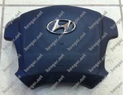 Заглушка в руль Hyundai Tucson.
