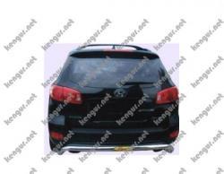 Защитная дуга заднего бампера Hyundai Santa Fe