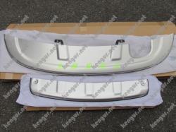Накладки переднего и заднего бампера Skid PlateVolkswagen Tiguan 2013