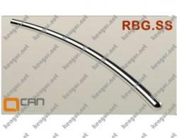 Защита заднего бампера Kia Sportage прямой ус