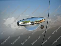 Хром Накладки на дверные ручки Renault Duster (к-т 4шт)