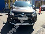 Защитная дуга по бамперу Volkswagen Amarok двойная