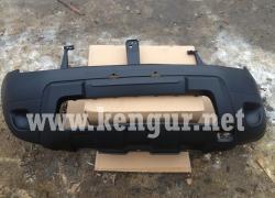 Renault Duster Бампер передний (без отверствия под ПТФ) 620220025R