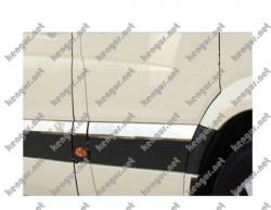 Молдинг дверной Volkswagen Crafter (нерж.) 10 шт. (короткая база)