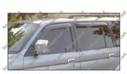 Дефлекторы дверей, ветровики Mitsubishi Pajero Sport