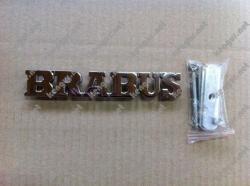 Надпись Brabus в решетку