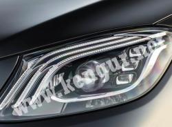 Рестайлинговые фары на Mercedes S-klass W222