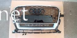 Решетка радиатора Audi Q5 стиль RSQ5 Chrome (2012-2015) QUATTRO