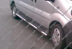 Пороги боковые Opel Vivaro (трубы)