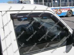 Дефлекторы окон, ветровики VW T4 наружные