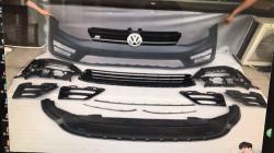 Бампер передний на Volkswagen Golf VII (2012-...) стиль R20