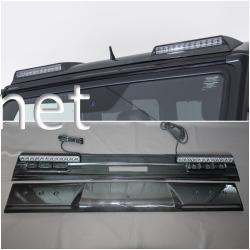 Mercedes G AMG W463 Мерседес карбон передний лип спойлер на крышу LED