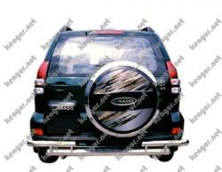 Защитная дуга заднего бампера Toyota Prado120