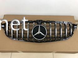 Решетка радиатора GT (black/chromе) Mercedes W205 2014-...