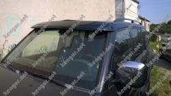 Козырек на лобове стекло Mitsubishi Pajero Wagon IV