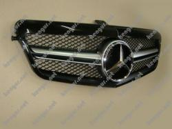 Решетка радиатора Mercedes E-class W212 (2009-2013)
