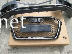 Передний бампер Audi A3 в стиле RS3 хэтчбек 2016-