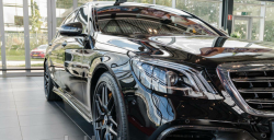 S63 S65 AMG 2017 карбоновый обвес Mercedes Benz S class W222