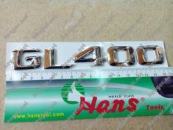 Надпись GL400