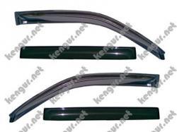 Дефлекторы дверей, ветровики Toyota Land Cruiser 200 #150371