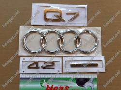 Комплект шильдиков Audi Q7