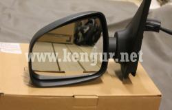 Зеркало механическое левое Renault Logan (2013-...)