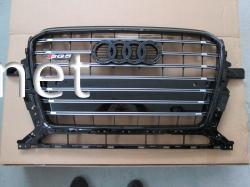 Решетка радиатора Audi Q5 стиль SQ5 Black (2012-2015)