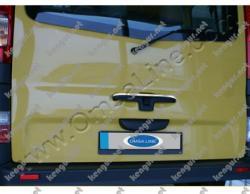 Хром накладка на ручку двери багажника Renault Trafic