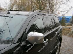 Дефлекторы окон, ветровики Mitsubishi Pajero Sport наружные