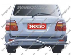 Защитная дуга заднего бампера Toyota Land Cruiser 100 #422028