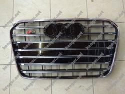 Решетка радиатора на Audi A6 (2012-...) в стиле RS6