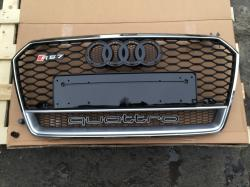 Решетка радиатора RS7 Quattro на Audi A7 (2015-...) 4G8853651J 1RR