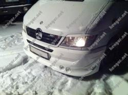 реснички (накладки на фары) Mercedes Sprinter