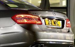 Спойлер на крышку багажника Mercedes E-class W212