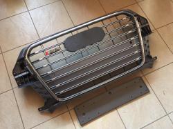 Решетка радиатора RSQ3 для Audi Q3 (2011-...) серая