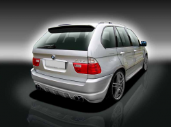 Бампер задний BMW X5 E53 51127027049
