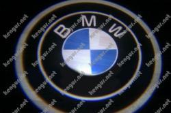 Лазерная подсветка дверей с логотипом на BMW X5 63312414105