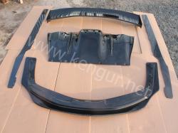 Карбоновый передний диффузор на Ferrari 458 Italia