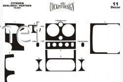 Накладки на панель Citroen Berlingo 2002-2008