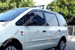 Дефлекторы окон, ветровики Volkswagen Sharan вставные под уплотнитель