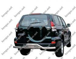 Защитная дуга заднего бампера Toyota Prado120 #425501
